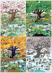 Heye - 4 Seasons jigsaw puzzle