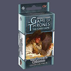A Game of Thrones LCG - The Captain's Command chapter pack