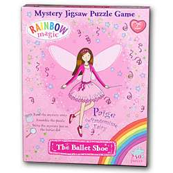 Rainbow Magic Mystery Jigsaw Puzzle Game - The Ballet Shoe