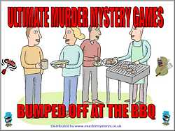 Bumped off at the Barbeque, murder mystery download