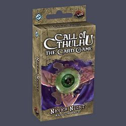 Call of Cthulhu LCG - Never Night Asylum Pack