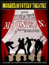 Death Mountain, murder mystery theatre, download kit