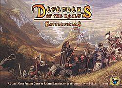 Defenders of the Realm Battlefields card game