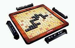 deluxe scrabble board game. Black Bedroom Furniture Sets. Home Design Ideas