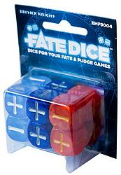 Fate Dice - Dresden Files Winter Knight
