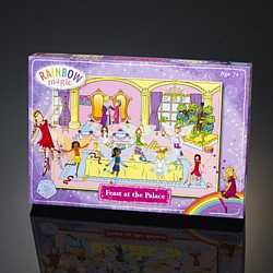 Rainbow Magic Glitter Puzzle - Feast at the Palace
