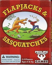 Flapjacks and Sasquatches card game