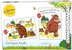 The Gruffalo 2 in 1 jigsaw puzzle