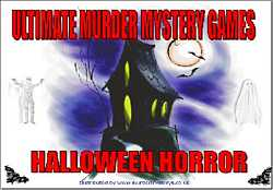 Halloween Horror, Murder Mystery Party Download Kit