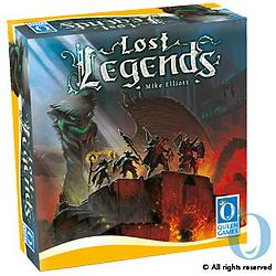 Lost Legends Brettspiel