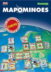 Mapominoes - Europe card game