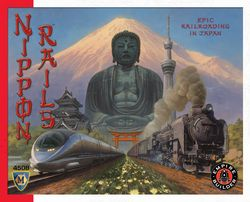 Nippon Rails board game