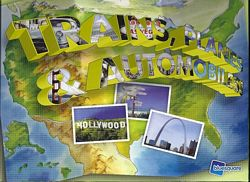 Trains, Planes and Automobiles board game