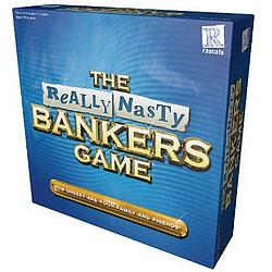 Really Nasty Bankers board game