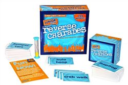 Reverse Charades Junior party game