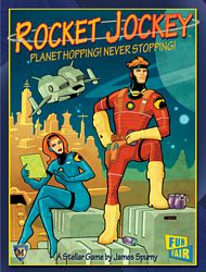 Rocket Jockey card game