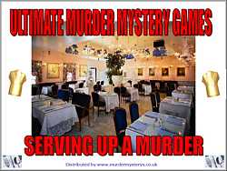 Serving up a Murder, Murder Mystery Download Kit