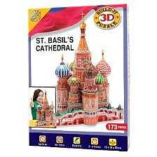 Build-Your-Own Giant 3D Kit - 3D Puzzle St Basil's Cathedral