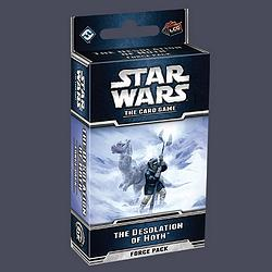 Star Wars card game - Desolation Hoth