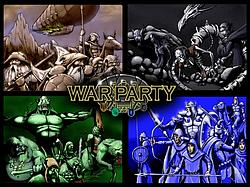 Warparty board game
