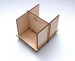 Wooden 2 Bay Card Feeder