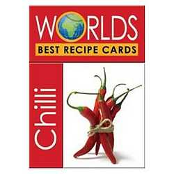 World's Best Recipe Cards - Chilli