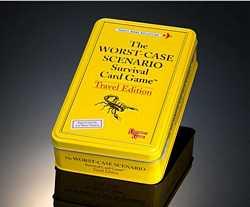 Worst Case Scenario Survival Card Game Travel Edition Card List