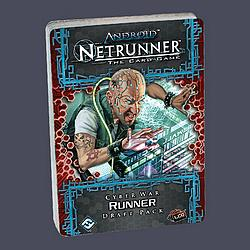 Android Netrunner - Cyber War Runner Draft Pack