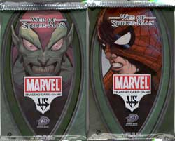 Marvel Trading Card Game - VS system - Web of Spiderman booster