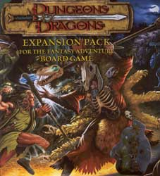 Forbidden Forest - Dungeons and Dragons board game expansion