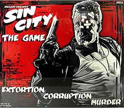 Frank Millers Sin City The Game, board game