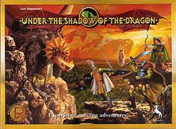 Under the Shadow of the Dragon board game