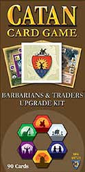 Settlers of Catan Card Game - Barbarians & Traders upgrade