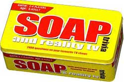 Soap and Reality TV Trivia tin