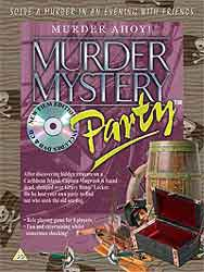 Murder Ahoy Murder Mystery Party download kit