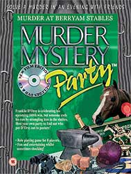 Murder at the Berryam Stables, Murder Mystery download party kit