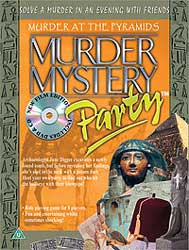 Murder at the Pyramids, Murder Mystery Party (plain outer box)