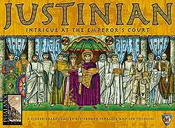 Justinian - Intrigue at the Emperor's Court board game