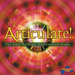 Articulate party board game