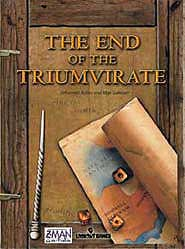 The End of the Triumvirate board game