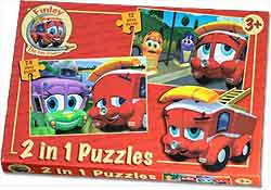 Finley the Fire Engine - 2 in 1 Puzzles