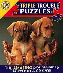 Triple-Trouble-Jigsaw-Puzzle - Puppies