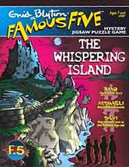 Enid Blyton's Famous Five Mystery Jigsaw - The Whispering Island