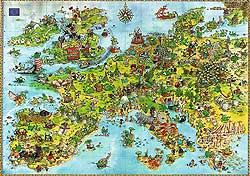 Heye - United Dragons of Europe jigsaw