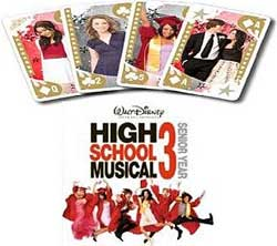 High School Musical 3 Prom Night card game