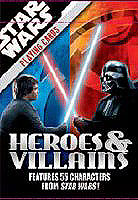 Star Wars Heroes & Villains Playing Cards