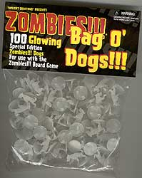 Zombies!!! - Glowing Bag O' Dogs!!!