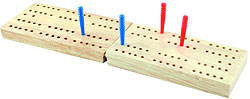 Cribbage Board - small travel version