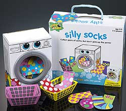 Silly Socks kids game