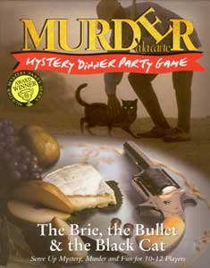 Murder a la carte  - The Brie, the Bullet & the Black Cat